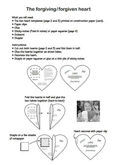 Forgiving heart craft