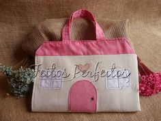 Tilda By Feitos Perfeitos: Bolsa Casinha de Bonecas