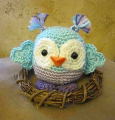 Ms. Polly Owlie: crochet pattern for purchase link