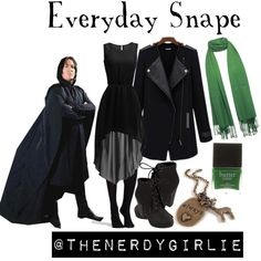 Everyday Cosplay: Professor Snape Harry Potter