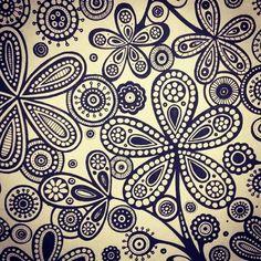 #illustration #floral #flower #artwork #draw #drawing #pen #pattern #design