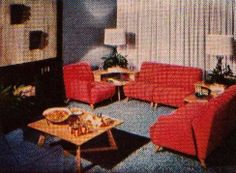 Heywood-Wakefield Living Room | Flickr - Photo Sharing!