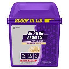EAS® Lean 15™ Vanilla Cream Protein Powder - 27.2 oz