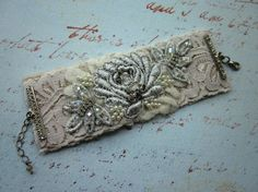 Hey, I found this really awesome Etsy listing at https://www.etsy.com/listing/117527053/bridal-cuff-lace-cuff-silver-cuff-bridal