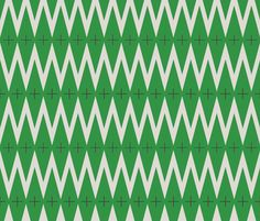 emerald diamond fabric by holli zollinger on Spoonflower - custom fabric
