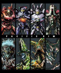 Pacific Rim - Jaeger vs Kaiju