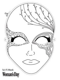 Download this mask  - WomansDay.com