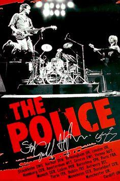 The Police European Tour 2007 poster