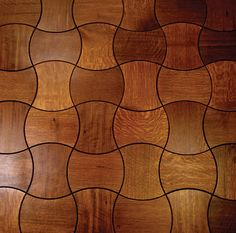 Enigma: Puzzling Wooden Floor Design By Jamie Beckwith ... see more at InventorSpot.com