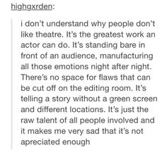 I'm so glad someone finally said something.