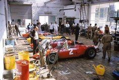 1961 GP Belgii (Spa-Francorchamps) Ferrari 156