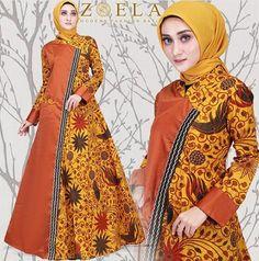 70+ Model Baju Batik Kombinasi Remaja Wanita 2019 - Model Baju Muslimah  Batik Terbaru 2018 1394695095