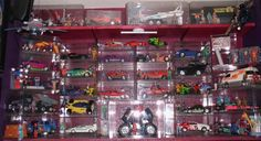 Now this is how to display a M. Action Figures, Nostalgia, Decorating Ideas, Collections, Display, Toys, Home Decor, Floor Space, Activity Toys