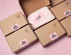 Brownie Packaging, Bakery Packaging, Box Packaging, Packaging Stickers, Bakery Branding, Packaging Company, Bakery Logo, Pretty Packaging, Clothing Packaging