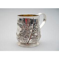 WILLAM FORDHAM, Englanti v. 1728-1729, tuoppi, hopeaa.