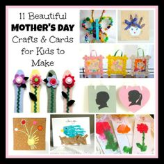 11 Mother's Day Crafts for Kids to Make from Buggy and Buddy