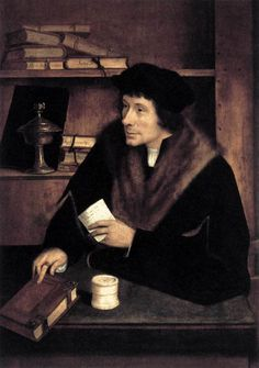 Peter Gillis by Quentin Massys, 1517