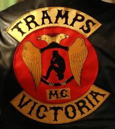 Tramps MC - Respect Biker Clubs, Motorcycle Clubs, Biker Gangs, Biker Quotes, Biker Patches, Color Club, Rocker Style, Gangsters, Rockers