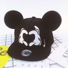 >> Click to Buy << 2017 Summer Kids Cartoon Cute Big Mouse Ears Eyes Snapback Hats Cap Hip Hop Baseball Caps Boys Girls Topee Sun Hat For Child #Affiliate