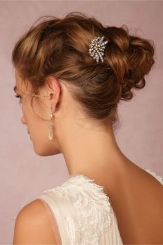 BHLDN Larkspur Comb in  Shoes & Accessories Headpieces at BHLDN