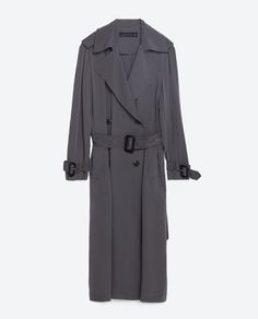 Image 8 of LONG FLOWING TRENCH COAT from Zara