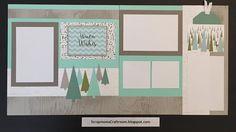 Winter Wishes layout using Oh Deer! paper - ScrapmomsCraftRoom.blogspot.com #ctmhohdeer