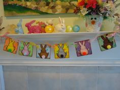 Bunny Butts  Easter/Spring by BarbaraARyan on Etsy