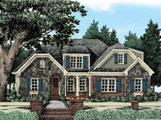 Eplans Cottage House Plan - Country Comfort - 2004 Square Feet and 3 Bedrooms from Eplans - House Plan Code HWEPL12823