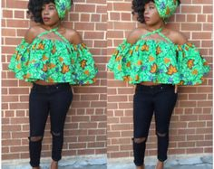 Items similar to Ankara peplum top/ fabrics are all cotton. HI-Tex Wax on Etsy Latest African Fashion Dresses, African Print Fashion, African Wear, African Dress, Ankara Peplum Tops, Afro Punk, Maternity Dresses, Chic Outfits, Elegance Style
