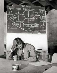 John Lee Hooker, at Music Inn, Stockbridge (MA), ca 1950 -by Clemens Kalischer (via T for tout)    from grisebach