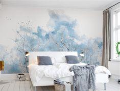 City Wallpaper, Custom Wallpaper, Wall Wallpaper, Adhesive Wallpaper, Leaves Wallpaper, Bedroom Wallpaper, Wallpaper Wallpapers, Room Decor, Wall Decor