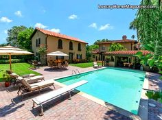Spanish-style home and pool Luxury Home Magazine - Tampa Bay