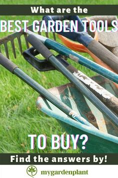 The Best Garden Tools To Buy are the ones that matches both your budget and need. It is important for you then to know what kind of garden do you want and your end goal with it so you would be able to make a smart choice. Find the list here!