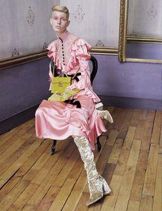 Jessie Bloemendaal & Lisa Helene by Michael Baumgarten for Vogue Italia…