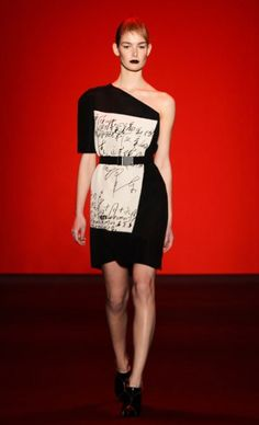 Vivienne Tam, Mercedes-Benz Fashion Week : Fall 2013