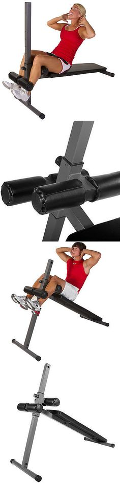 Abdominal Exercisers 15274: Xmark Fitness Decline Ab Abdominal Core Sit Up Slant Board Bench Xm-4360 -> BUY IT NOW ONLY: $105 on eBay!