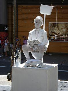 Artista di strada ... in ceramica! Barcellona. #FunStreetArt