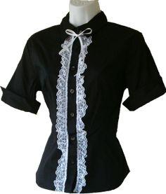 goth simple blouse adaption 1
