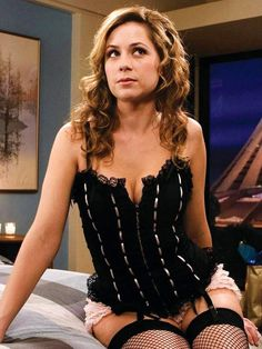 """Jenna Fischer...... My favorite sitcom, """"The Office"""", may have been cancelled, (thanks for that, by the way, Steve Carrell), but Jenna has great acting chops, among other assets."""