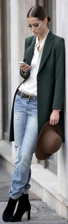 Getting ready for Fall. But I still don't want my jeans shredded. Dressing For My Life, Patti Montgomery