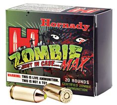 Hornady ZOMBIE 45 Automatic Colt Pistol (ACP) Zmax 185 GR 20Box from www.shop.everythingweapons.com