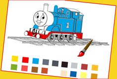 Interactive coloring activity! Which engine do you want to paint? Thomas, Edward or Bertie?, http://www.thomastrainrides.com/fun-and-games.html#02jun15