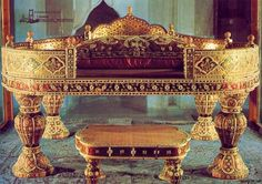 Golden Throne of Sultan Ahmet