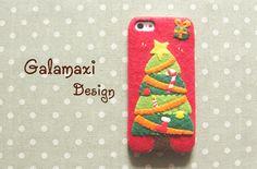 Handmade Christmas Tree iPhone 6/6S Case Christmas by Galamaxi