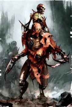 Some sort of weird undead servant of Tzeentch