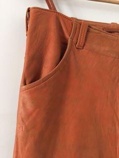 Helmut Lang leather pants very rare Vintage   eBay