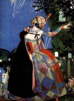 Colombina | Commedia dell\' Arte | Pinterest | Costumes, Costume ...