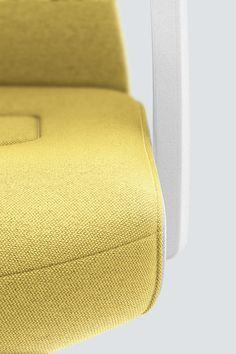 PURE INTERIOR Edition 11 #Gelb. Mehr Design für dein #HomeOffice. Mit einer vielfältigen und hochwertigen Stoffauswahl und ihrem ergonomischen Design vereint die PURE INTERIOR Edition bequemes und ergonomisches Sitzen. Das Design und die Farbgebung des PURE machen ihn zu einem optischen Leichtgewicht. Farblich abgestimmt bringt er sich in das Home Office ein und kann sich gleichzeitig zurücknehmen. #schreibtischstuhl #design #interiordesign #Stoff #ergonomie #interstuhl Home Office, Pure Home, Interiordesign, Designer, Pure Products, Detail, Yellow, Office Home, Home Offices