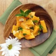tropical mango salad