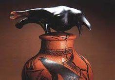 William MorrisThe Raven Jar, 1999, blown glass, Photo: Rob Vinnedg: